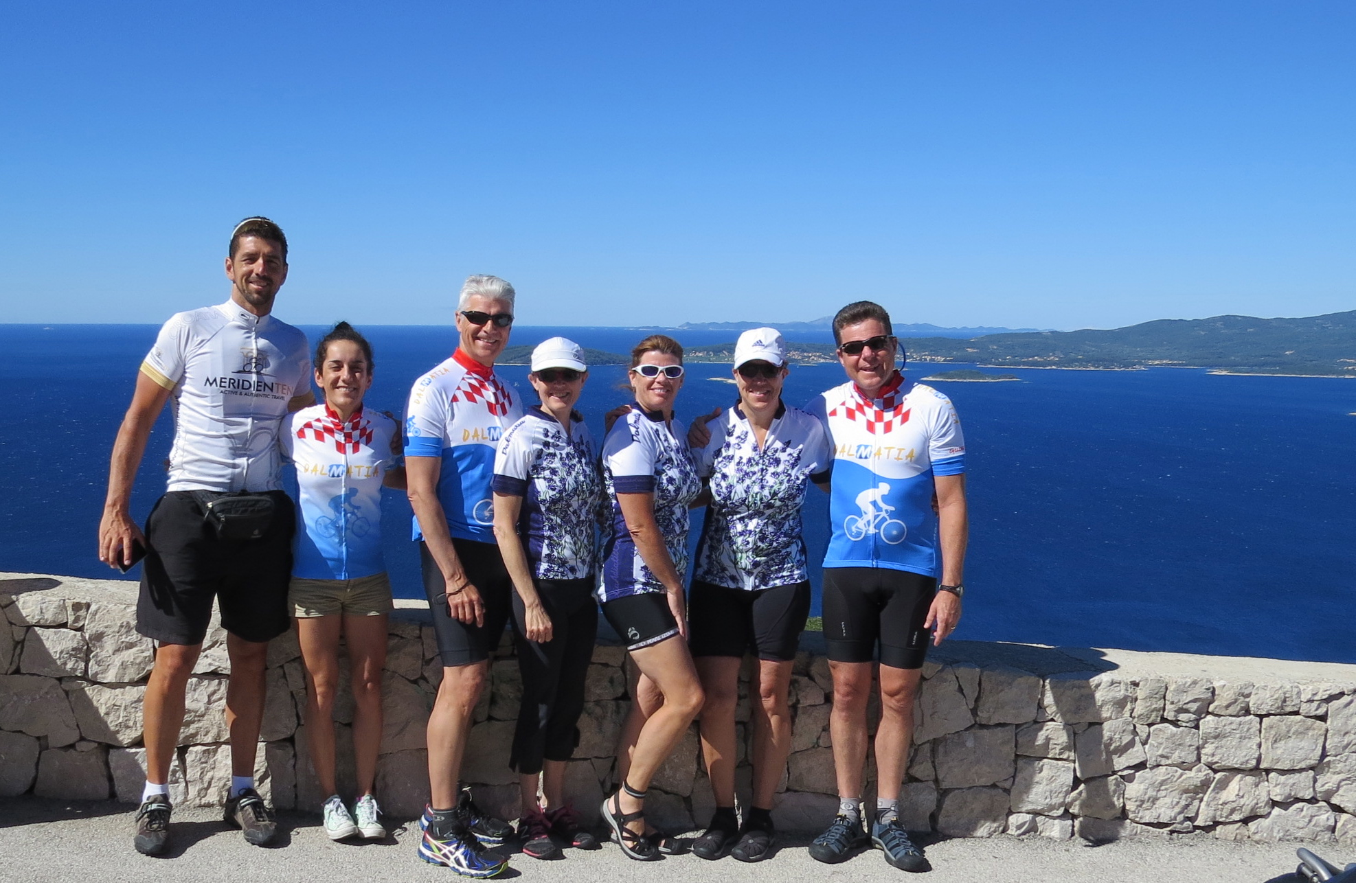 Dalmatian coast classic bike tour